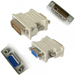 Adaptor DVI to VGA T/M