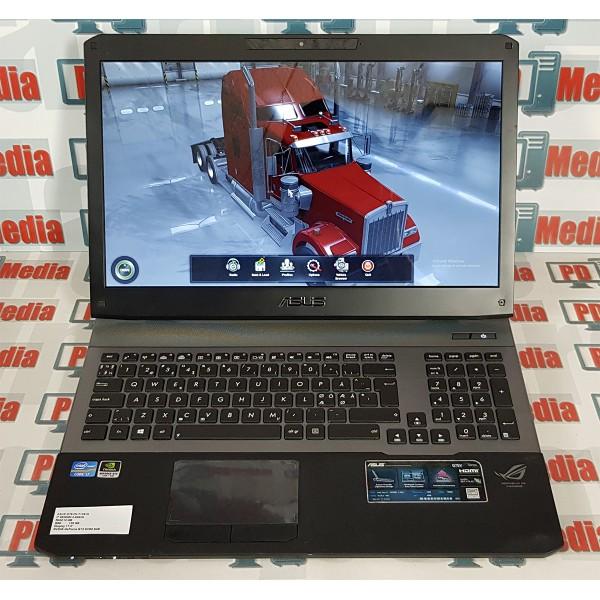 """Laptop Gaming ASUS 17.3"""" Core i7 3630QM 2.40 GHz RAM 12GB SSD 120 GB GTX 670M 3GB G75VW-T1391H"""