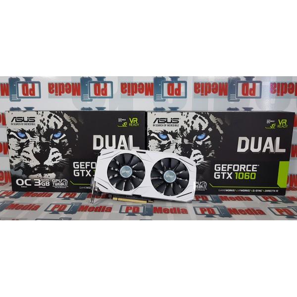 Placa video ASUS GeForce GTX 1060 Dual OC 3GB GDDR5 192-bit Garantie