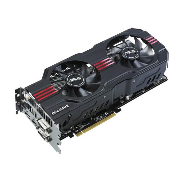 ASUS GeForce GTX 570 DirectCU II 1.2GB GDDR5 320bit PCIe