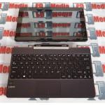 "Laptop 2 in 1 ASUS Procesor Quad-Core Z3735D 1.33GHz 10.1"" Touch-Screen 2GB RAM 64GB EMMC Intel HD Graphics WebCam Wi-Fi 4G Bluetooth Gri Transformer Book Flip T100TAL-DK013P"