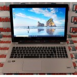 "Laptop Slim ASUS i5 3317U 1.70 GHz RAM 8 GB HDD 320GB SSD 24GB DVD-RW HDMI USB 3.0 Display 15.6"" LED Touch Screen VivoBook S550CM"