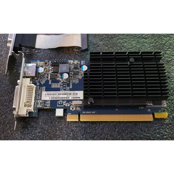 Placa video Sapphire ATI Radeon HD 5450 1GB DDR3 64 Bit HDMI DVI VGA Low Profile