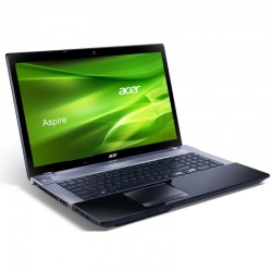 Laptop Acer Aspire Procesor i5-3210M 2.5GHz  8GB RAM 500GB HDD 128GB SSD GeForce GT 740M 4GB 17.3'' Full HD