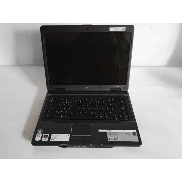 "Laptop Acer Extensa 5420 15.4"" AMD TK-55 1,80 Ghz 2GB RAM 160 GB HDD WebCam WiFi DVD-RW"