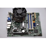 Kit Placa de baza Socket 775 DDR3 Acer G43D01 Intel G43 + Procesor Quad Q6600 + 4GB RAM DDR3  Cooler Cadou