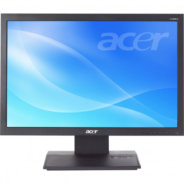 "Monitor LCD Acer V193W, Wide, negru, 19"" Grad A"
