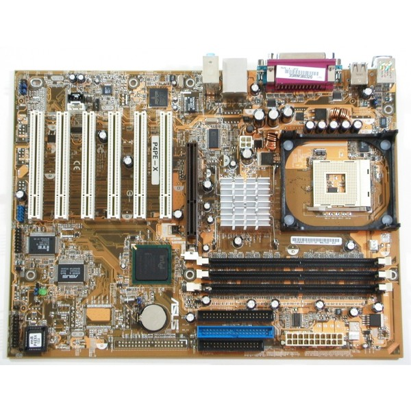 Placa De Baza Asus Socket 478 ASUS P4PE + PROCESOR PENTIUM 4 2,4GHZ