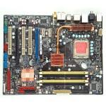 Placa de baza Asus P5K-E socket 775 Chipset Intel P35 1x WiFi 2x PCI-E x16 Suporta 8 GB RAM DDR2