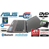 Laptop Asus X53B AMD E2-1800 1.7GHz RAM 4 GB HDD 1 TB Radeon 7470M 1GB DVD-RW Wi-Fi