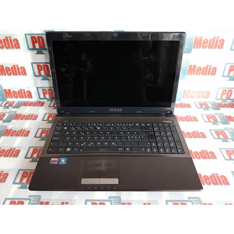 Laptop Asus X53u Amd C 50 Dual Core 1 0 Ghz 3gb Ram 160gb Hdd Ati Hd6250
