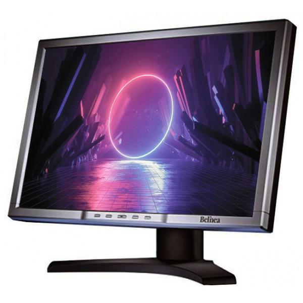 "Monitor 24"" LCD Belinea 2485-s1w 1920 x 1200 Gri Cabluri + Garantie"