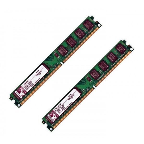 Memorie Ram Calculator Kingston 2x2GB DDR2 667Mhz