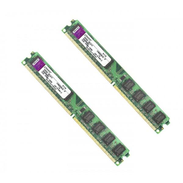 Memorie Ram Calculator Kingston 2x2GB DDR2 800Mhz
