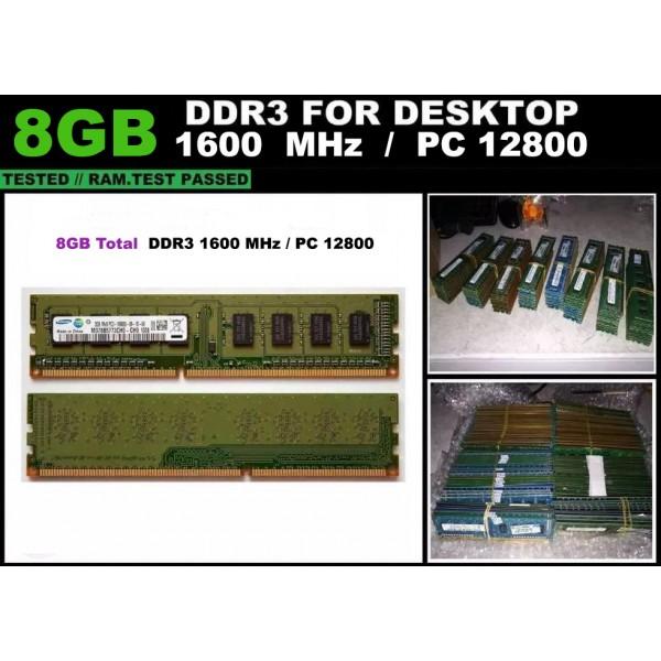 Memorie RAM DDR3 Calculator 8GB 1600 MHz Garantie