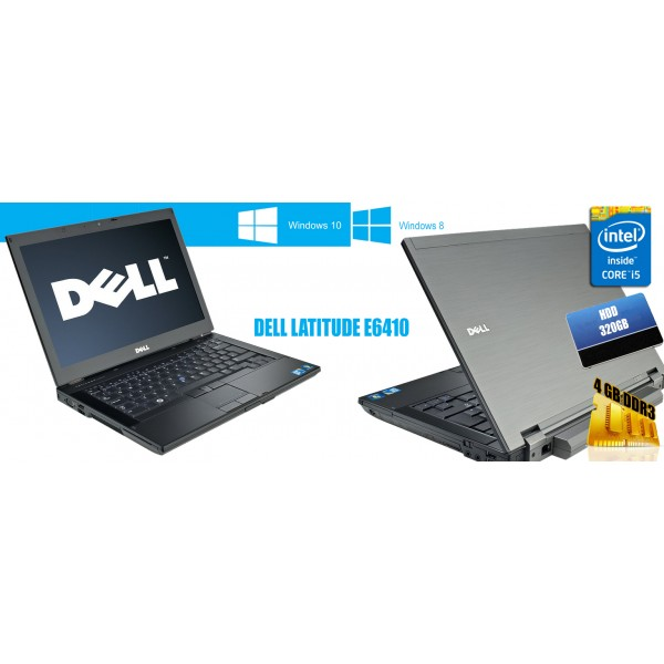 Laptop Dell Latitude E6410 2.6 GHz 4 GB RAM 320 GB HDD