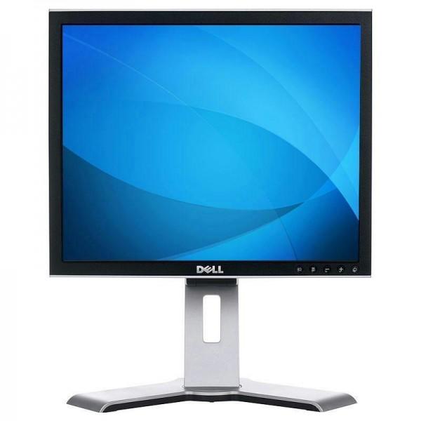 Monitor second hand Dell 1907FPC, 1280 x 1024, 19 inci LCD, 8ms, VGA, DVI, USB Grad B