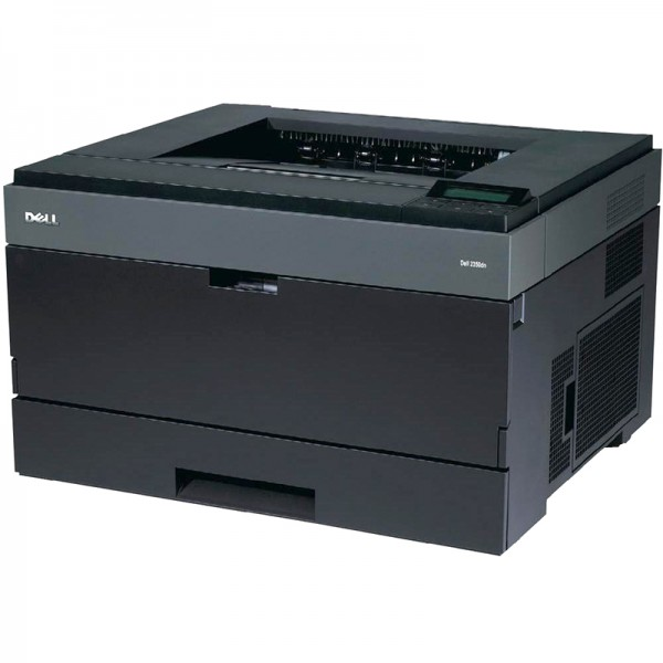 Imprimante laser second hand Monocrom Dell 2350dn A4 38ppm Duplex Retea
