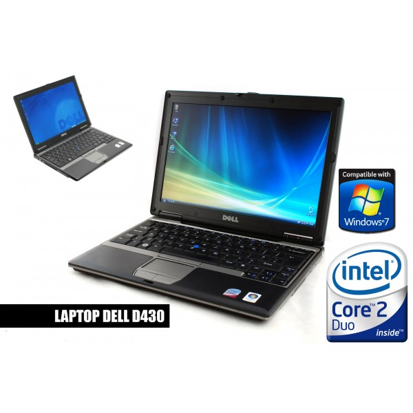 Laptop Second Hand Dell Latitude D430 U7600 1.2 GHz 2 GB DDR2 60 GB S-ATA