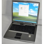 "Laptop Dell D505 14"" 1.6GHz 1GB RAM 40 GB HDD WiFi DVD-Rom"