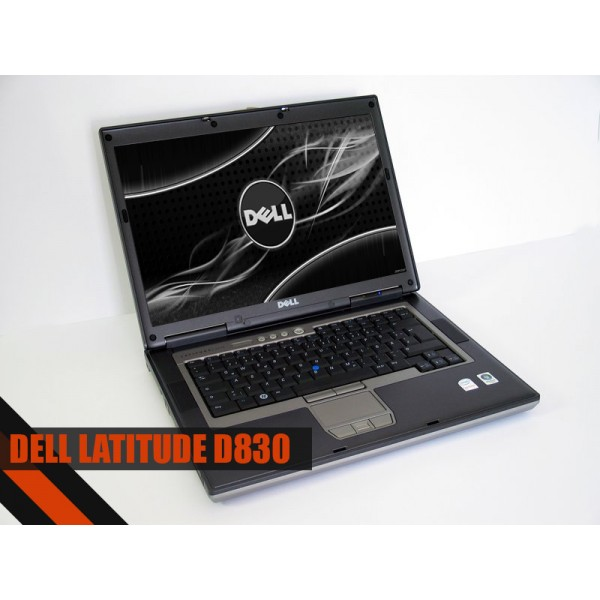 "Laptop Dell D830 15.4"" Core 2 Duo T7500 2.2 GHz 2GB DDR2 80GB DVD-RW Fara Baterie"