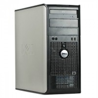 Calculator Dell 755 Tower Core2Duo E6550 DVD-SATA PCI-EX  256MB Video Chipset Q35 Fara HDD si RAM