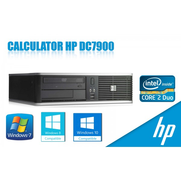 Calculator HP DC7900 SFF, Core2Duo E6550 2.33GHz, 2GB DDR2, 80GB, DVD
