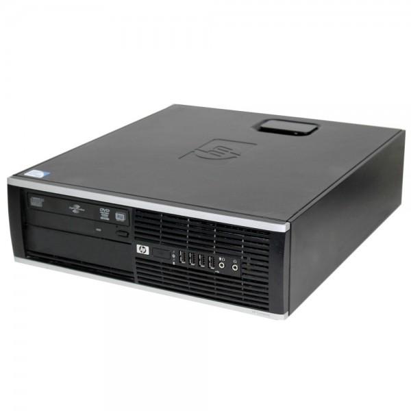 Calculator Desktop HP Elite 8000 SFF Core2Duo E6500 2x2.93GHz 4GB DDR3 250GB DVD-Rom