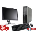 "Kit Calculator HP 6000 Procesor E5700 3.0GHz, 4 GB DDR3, HDD 160 GB + Monitor 19"" Grad A Mouse si Tastatura"