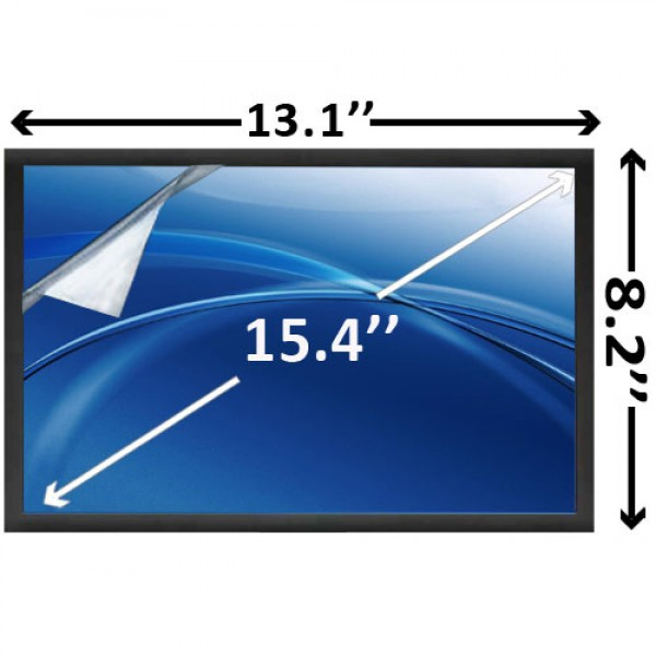 "Display Laptop LCD 15.4"" inch CHUNGHWA CLAA154WA06A"
