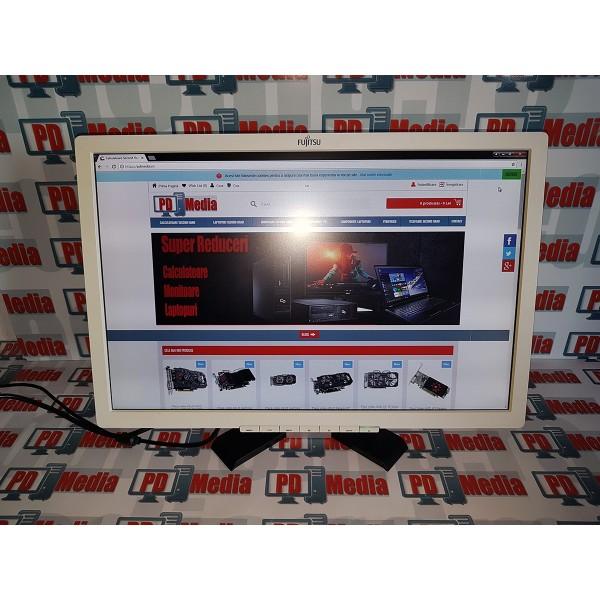 "Monitor LED Fujitsu B22W-7 22"" 5ms Alb Grad B"