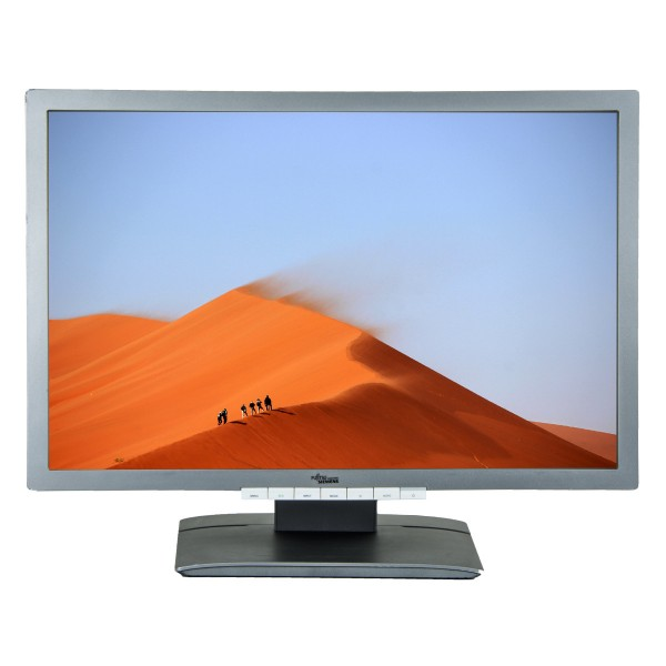 "Monitor 24"" LED Fujitsu b24w-6 1920 x 1200 Gri Cabluri + Garantie"