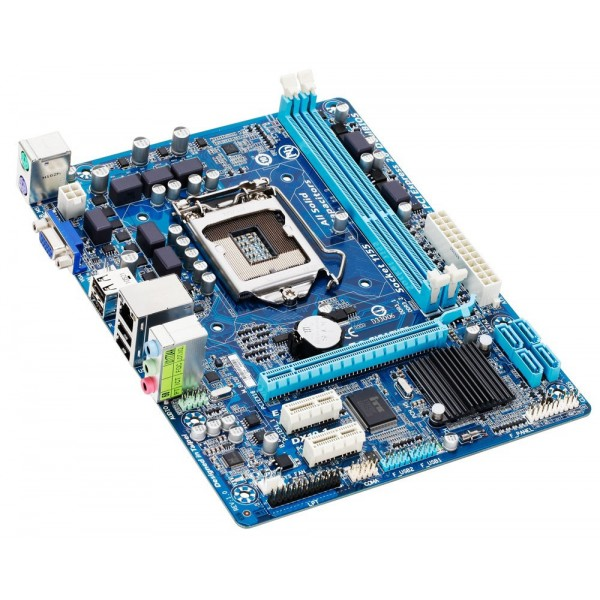 Placa de baza GIGABYTE GA-H61M-S2PV Socket 1155 Intel , 2 x DDR3 max. 16GB, Audio 7.1