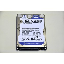 Hard Disk Laptop Western Digital Blue 160 GB 5400 RPM 8 MB SATA 2