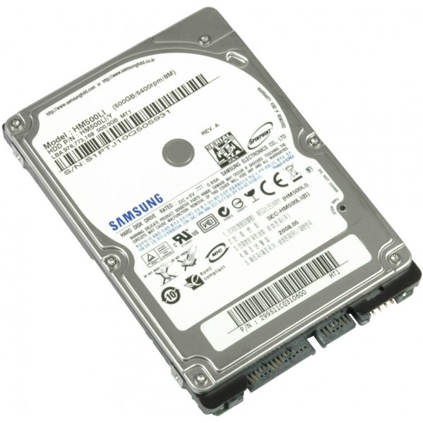 Hard Disk Laptop 500 GB SATA 5400 RPM 8 MB