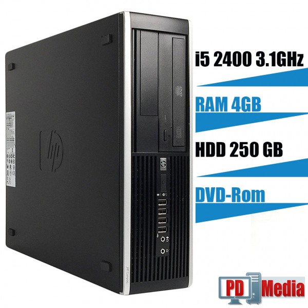 Calculator HP 6200 I5 2400 (6M Cache, pana la 3.4 GHz) 4 GB DDR3 HDD 250 GB DVD-Rom