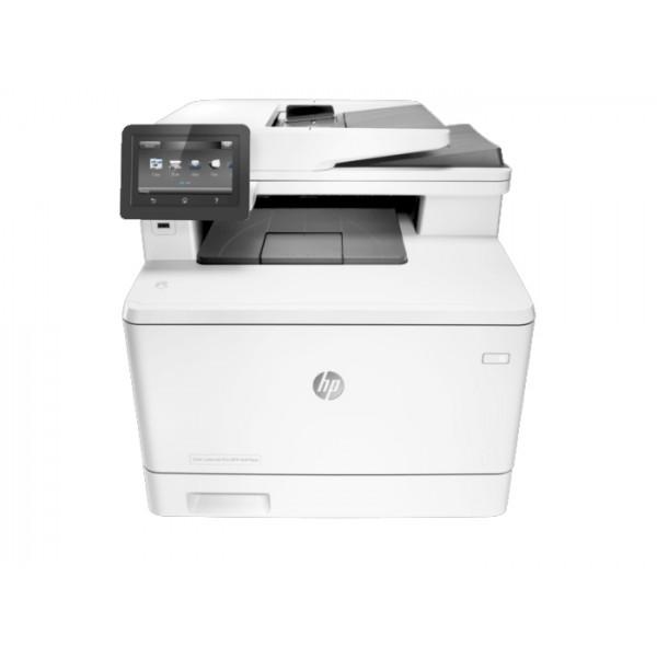 Imprimante laser second hand A4 HP Color LaserJet Pro MFP M477FWD Wireless Cartuse Incarcate