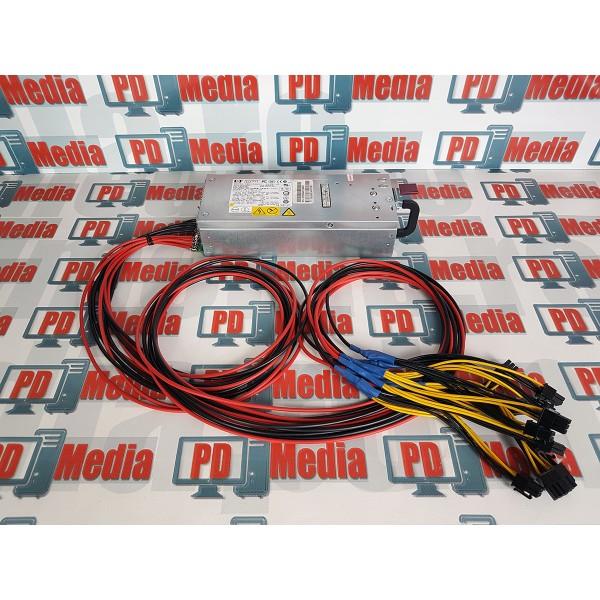 Sursa Minat Mining 1000W PSU 10x6+2 pin PCI-E Ethereum Bitcoin Zcash