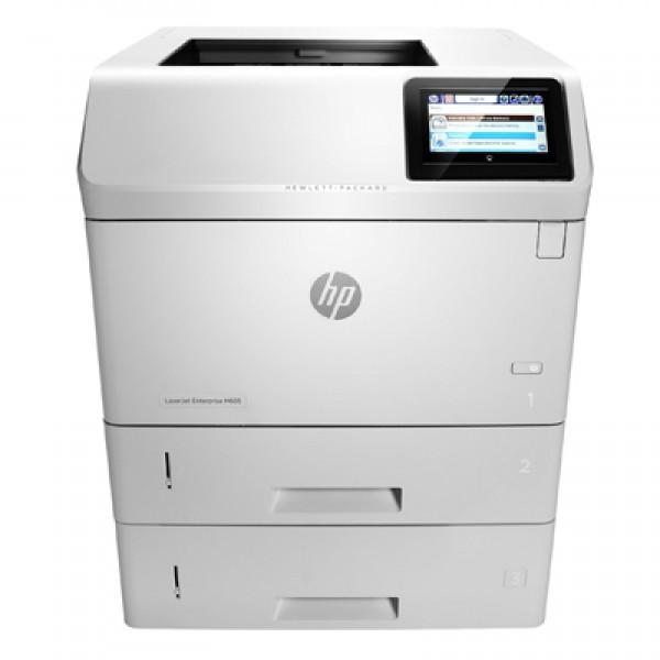 Imprimante laser second hand HP LaserJet Enterprise M605dtn 58ppm Duplex Tava Suplimentara
