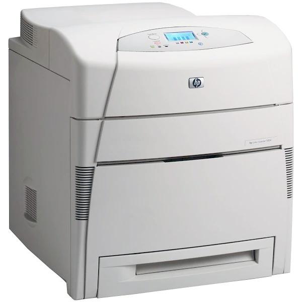 Imprimante laser second hand Color HP Laserjet 5550DN Retea Duplex