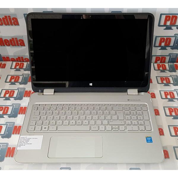 Laptop HP ENVY x360 i5 5200U 2.2GHz RAM 4GB SSD 120GB WebCam Touch Screen
