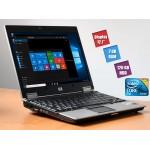 Laptop HP EliteBook 2530p Intel Core 2 Duo U9400 2 GB DDR2 120 GB HDD 12.1inch