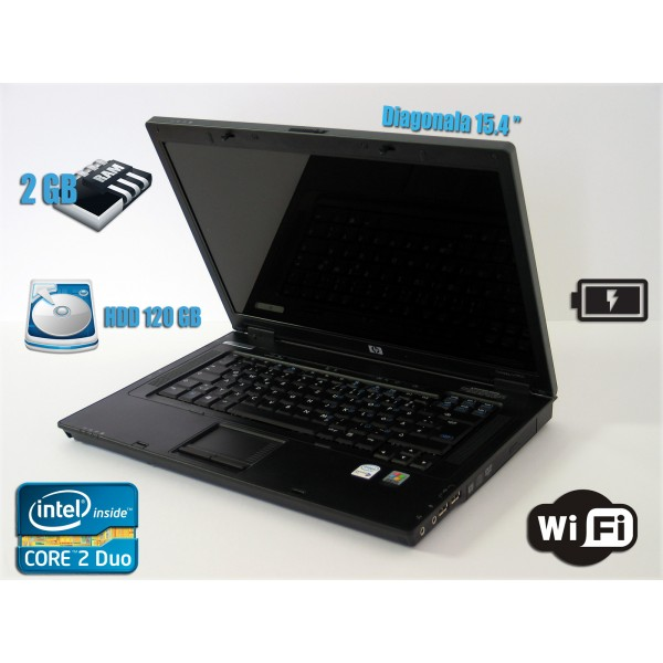 Laptop HP Compaq nx7400 15.4'' Core2Duo T5600 1,9 GHz 2GB Ram 120 Gb Baterie OK