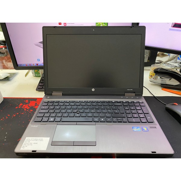 Laptop Hp ProBook 6570b i3-2310M 2.10GHz RAM 8GB SSD 128GB