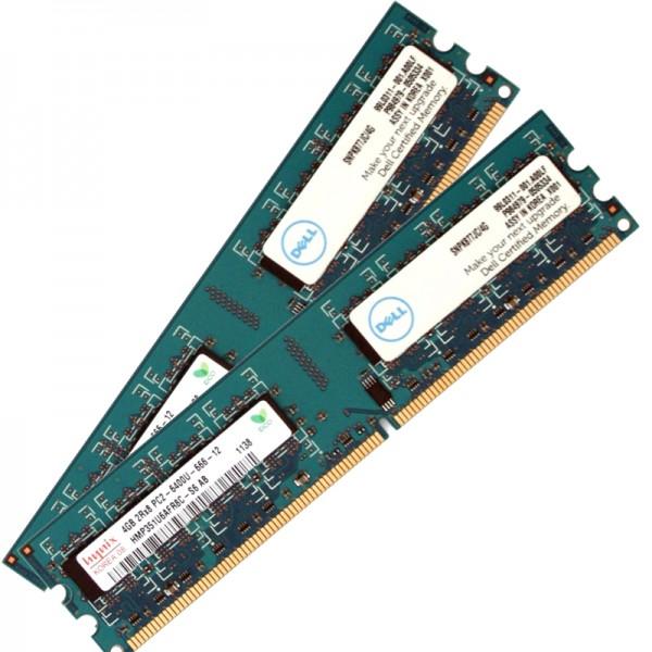 Memorie Ram Calculator Hynix 2x4GB (8GB) DDR2 800MHz PC2-6400