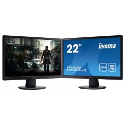 "Monitor Led HDMI Iiyama 22"" 1ms Full HD Grad A Boxe 75 Hz Garantie"