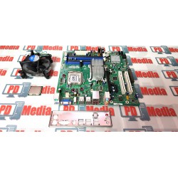 Kit Placa de baza Intel DG33BU + Procesor Quad Core Q6600 + Cooler, LGA 775, 4 x DDR2, PCI-Express, micro-ATX