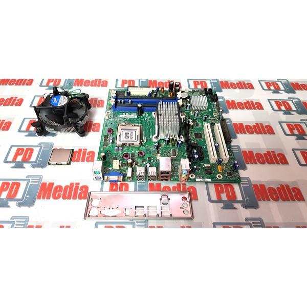 Kit Placa de baza Intel DG33BU + Procesor Quad Core Q6600 + Cooler, LGA 775, 4 x DDR2, PCI-Express, micro-ATX