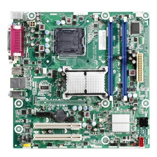 Placa de baza Socket 775 DDR2 Intel DQ43AP DVI VGA OnBoard Cadou Procesor + Cooler