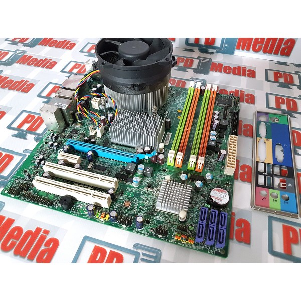 Kit Placa de baza si Procesor + Cooler , Acer MG43M, DDR3, LGA 775, Intel Core2Duo E8400 6M Cache, 3.00 GHz